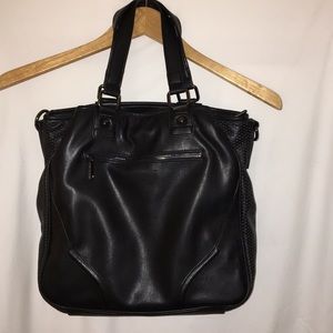 French Connection Genuine Leather Handbag